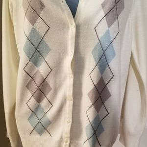 Croft & Barrow Argyle Cardigan